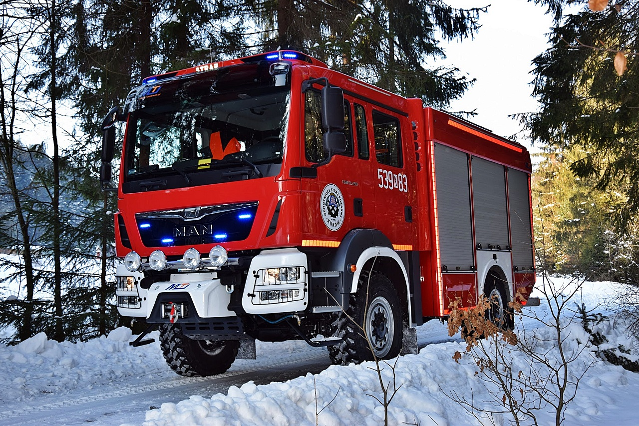 MAN TGM 13.290 Fire Department Kuków